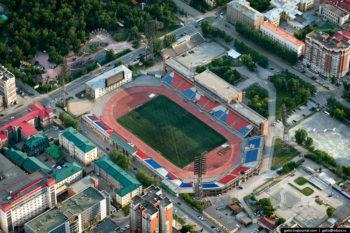 Стадион «Спартак» г.Новосибирск
