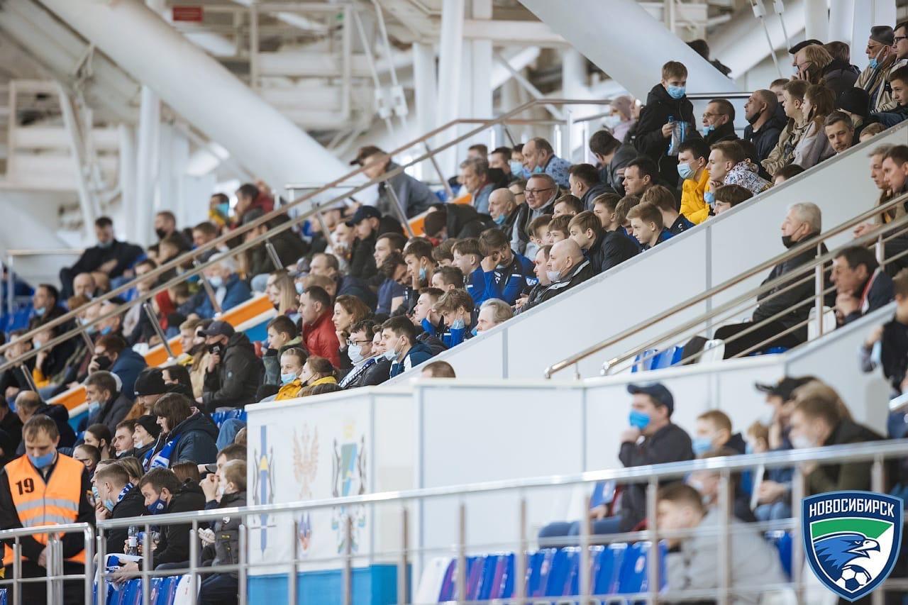 17.04.2021 1350 зрителей на матче с «Волгой»